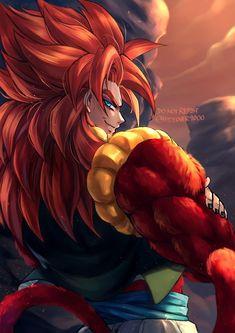 Dragon Ball Z, Fate Archer, Gogeta And Vegito, Street Fights, Son Goku, Dbz, Anime Art, Fan Art, Artwork