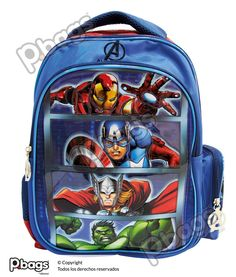 "Morral 13"" Avengers http://pbags.co/product/morral-13-avengers-p-bags/"