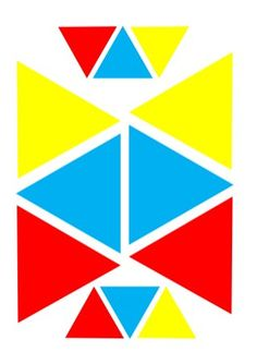 Bloques logicos Tangram, Playing Cards, Shapes, Education, Homeschool, Art Projects, 1st Grades, School Supplies, Stencils