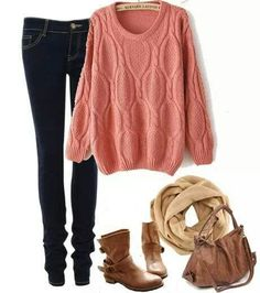 This is a cute outfit all together