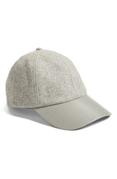 This classic, cool baseball cap is going to be on repeat this fall.