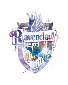 Ravenclaw Crest Instant Digital Download Harry Potter by artsaren