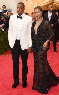 Jay-Z and Bey look flawless at the Met Gala!