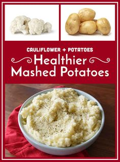 Add cauliflower to your mashed potatoes.
