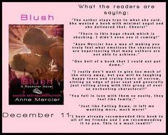 BOOK BLITZ: Blush (Rockstar Series, #2) by Anne Mercier - iScream Books
