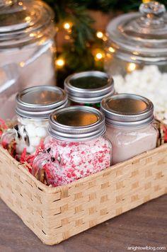 Hot Cocoa Bar in a Box | Gift Idea