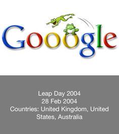 Leap Year Google Doodle