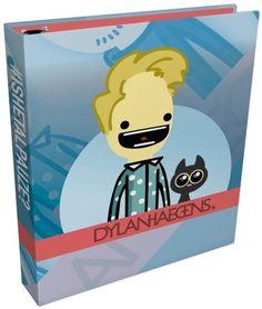 Deze gave ringband van Dylan Haegens is een schoolmap van hard karton en heeft twee ringen om al je documenten bij elkaar te houden. - Ringband Dylan Haegens 2-rings