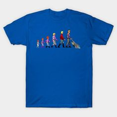 The Evolution Of A Space Janitor - Mens T-Shirt