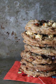 Chocolate Macaroon Moose Munch Cookies