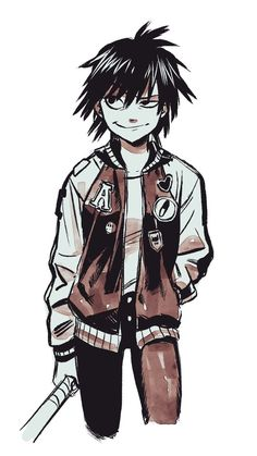 Gorillaz Noodle, Gorillaz Art, Comic Character, Character Concept, Character Design, Sunshine In A Bag, Really Cool Drawings, Dark Drawings, Fan Art