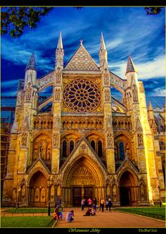 Westminster Abbey, London, England...love this place. Can't wait to go back.