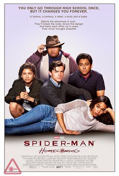 Spider-Man: Homecoming poster gives homage to The Breakfast Club