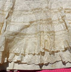 Etsy listing at https://www.etsy.com/listing/182543742/antique-lace-slip-antique-petticoat