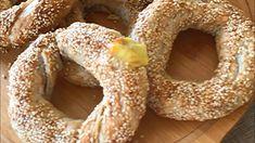 Yummy Food, Delicious Recipes, Bagel, Doughnut, Pasta, Bread, Desserts, Youtube, Tailgate Desserts