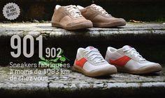 Jeans et chaussures - fabrication française