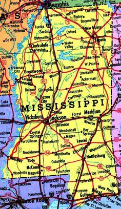 Mississippi Gulf Coast Map Of Mississippi Gulf Coast