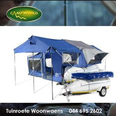 Do you enjoy camping but not towing a huge caravan? Tuinroete Woonwaens Campworld are stockist of these great Jurgens Camplite Trailer campers which are ideal for a lite load. See our showroom for details. Remember we are closed tomorrow but will be open on Saturday and Monday. #outdoorliving #camping #trailercamping
