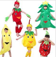 Crianças festa de halloween de frutas legumes cenoura pimenta de banana melancia morango repolho o traje de roupas em   de   no AliExpress.com | Alibaba Group
