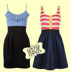 Feeling dressy this summer? Try these:)