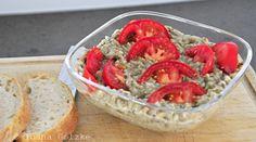 miss-red-fox - Rezept des Monats Juli - Rumänischer Auberginen-Salat - Detail Romanian Food, Low Carb Keto, Dips, Shrimp, Good Food, Food And Drink, Veggies, Gluten Free, Snacks