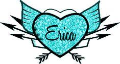 Erica name graphics