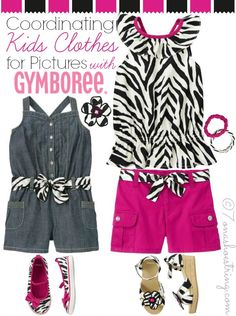 Coordinating Kids Clothes for Pictures with Gymboree #GrowWithMeNG
