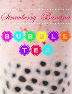 As you know we& been on a serious Asian kick recently, and today& Taiwanese treat is no exception! We invented th. Non Alcoholic Drinks, Beverages, Specialty Foods, Strawberry Banana, Alcohol Recipes, Bubble Tea, Fun Cocktails, Plant Based Recipes, Coffee Drinks