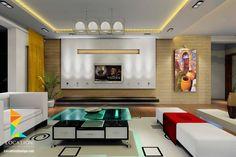 غرف معيشه بالوان زاهيه