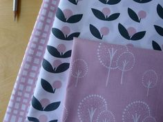 Although I don't do fat quarters, I love this new line called GLIMMA