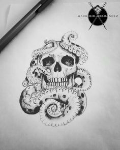 Tattoo design by Mauricio Hernandez Huerta