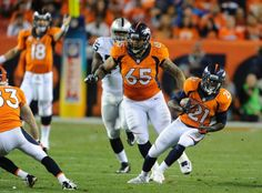 The Broncos found their run game vs. the Faiders Monday night. Shots of the Game Monday Sep 23, 2013