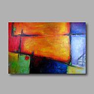 Handgeschilderde+AbstractModern+Eén+paneel+Canvas+Hang-geschilderd+olieverfschilderij+For+Huisdecoratie+–+EUR+€+120.24