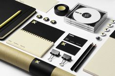 identity, branding, stationery