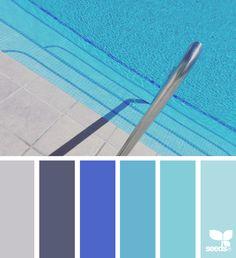 { color swim } image via: @thebungalow22 ... #color #palette #colorpalette #pallet #colour #colourpalette #design #seeds #designseeds #seedscolor