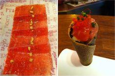 Tuna tartar cone