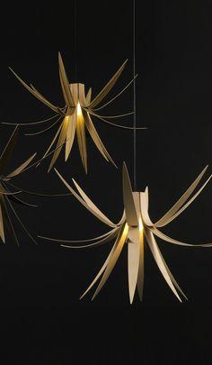 The Iris 3 Light Pendant