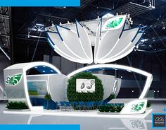 An exceptionally grand expo stand. Trade Show Design, Pop Design, Stage Design, Event Design, Graphic Design, Exhibition Stall, Exhibition Booth Design, Exhibit Design, Expo Stand