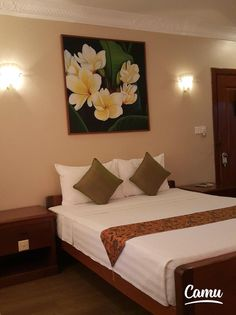 """""""Buy 10 nights get 1 night free from Anise Hotel and Anise Villa. Phnom Penh, Cambodia, Old Things, Villa, Night, Twitter, Bed, Stuff To Buy, Furniture"""