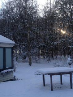 Sne i haven ❄️