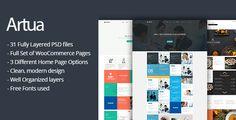 Artua - Creative PSD Template  -  http://themekeeper.com/item/psd-templates/artua-creative-psd-template