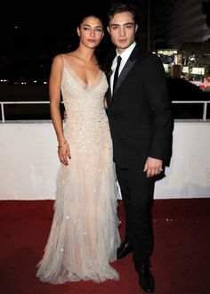 Jessica Szohr & Ed Westwick have been in an on-again, off-again relationship since 2008.