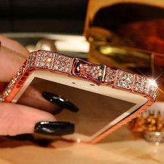 Luxury Snake Diamond Phone Case