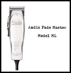 Andis Fade Master Model ML Andis Clippers, Home Appliances, Personal Care, Model, House Appliances, Self Care, Personal Hygiene, Scale Model