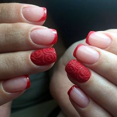 45 Pretty French Nails Designs 2016 | French Nails Designs | Pretty Nails Designs | Fenzyme.com