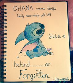 My drawing of Stitch!!!! <3