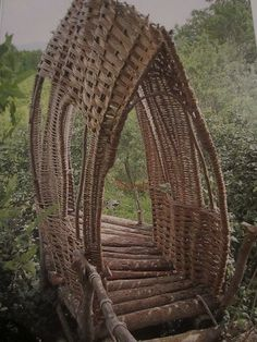 Foot Bridge Tiebele, Burkina Faso, West Africa
