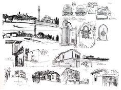 Le Corbusier Complete Works in Eight Volumes Vol. Le Corbusier, Taj Mahal, Building, Travel, Buildings, Projects, Sketch, Voyage, Viajes