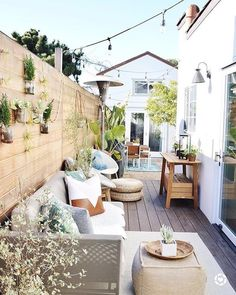 """Home Decor Ideas on Instagram: """"We're getting all the spring vibes care of @kdiondesign's beachy meets boho patio scape 