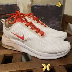 Nike Shoes | Nike Tennis Shoes | Color: White | Size: 9 Like New Nike Tennis Shoes- Without Box<br> Nike Tennis Shoes, Sneakers Nike, All White, White Nikes, Nike Free, Athletic Shoes, Nike Women, Box, Color